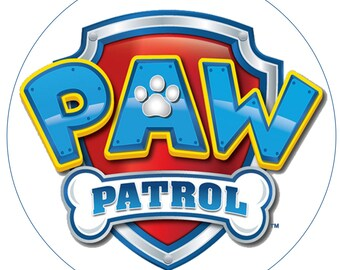 Paw Patrol Edible Image/Cake Topper