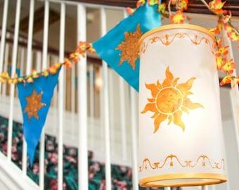 Royal Rapunzel Sun and Design Stencils