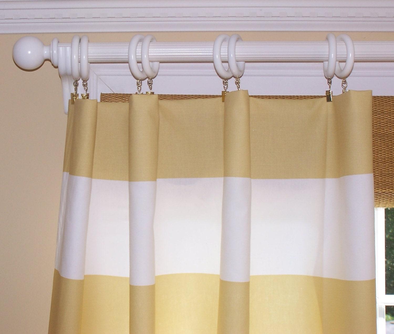STRIPE Curtains Premier Fabric Window Treatment 24
