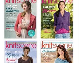 Knitscene Magazine 2011 Collection Cd