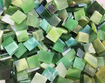 YOGI GRAB BAG #2 Stained Glass Mosaic Youghiogheny Tiles Mix Size B46