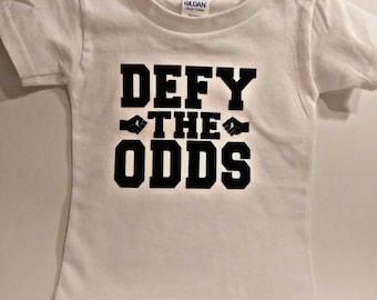 DEFY the Odds Kids Tee