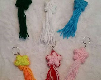 Shooting Star Keychains