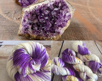 Gorgeous Geode....Lux Fingering Weight
