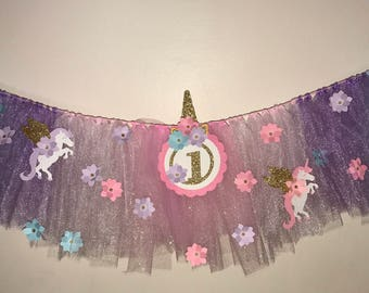 Unicorn - Tutu Garland