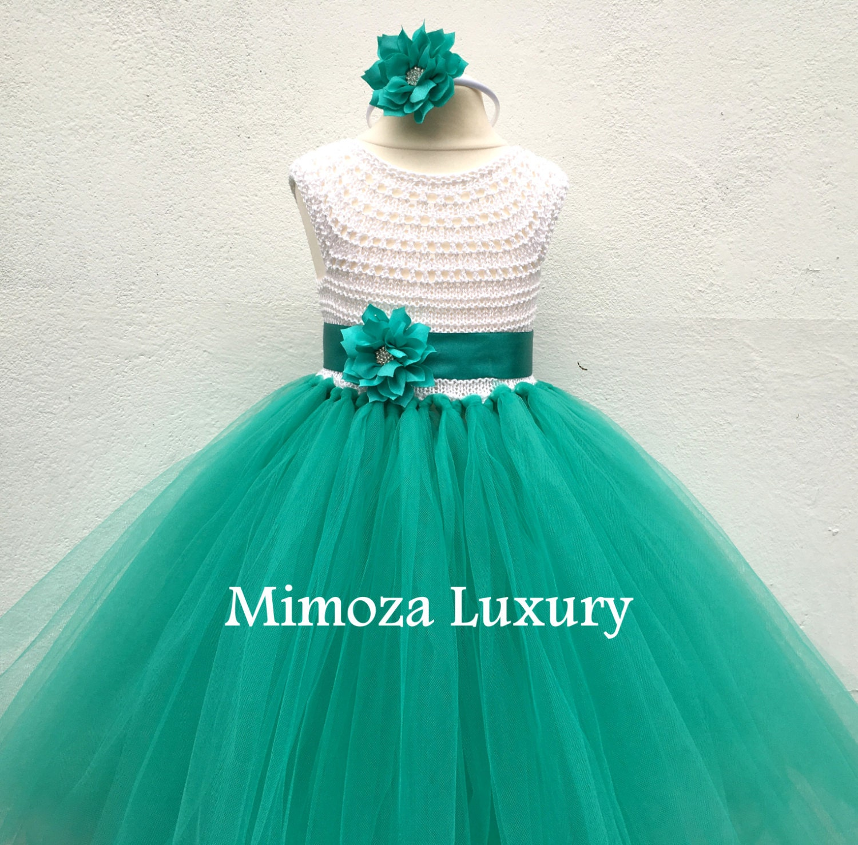 Flower girl dress tutu dress bridesmaid dress princess
