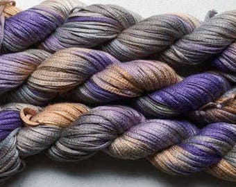 Junco, Rayon Tape Ribbon, Hand dyed  104 yds - Summer