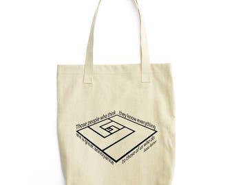 What Asimov Said tote bag gift