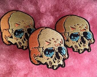 Blue Eyed Skull (Set of 3)
