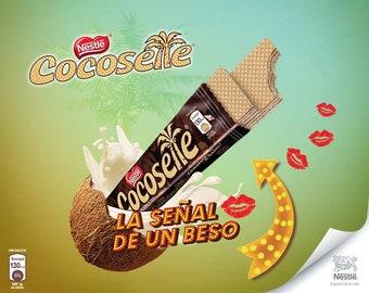 Cocosette Cookie, Samba, Susy, Nestle