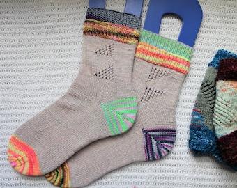 Join The Crew Socks PDF Pattern