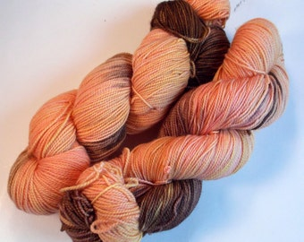 Cobbler on Max 80/20 SW Merino Nylon Hand dyed fingering weight sock yarn