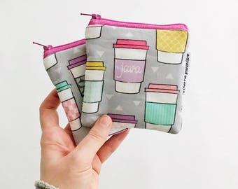 java in pastel mini pouch