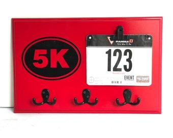 Running Medal Holder Race Bib Display 5K, Ready to Ship