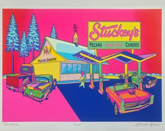 Stuckey's Ltd Edition Giclee Print