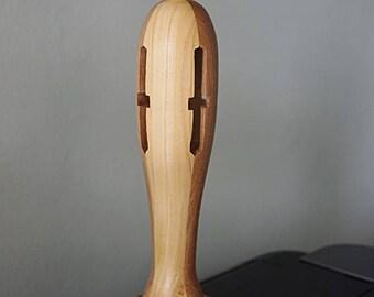 Turned wooden art Deco artwork