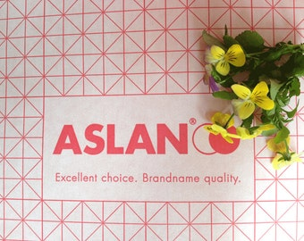 ASLAN Double-sided self-adhesive film both sides with permanent adhesive. Transparant Self adhesive film. Double sided self adhesive plastic
