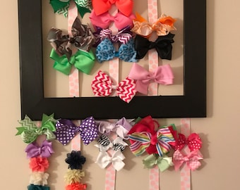 Customized bow holder made-to-order
