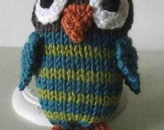 Knitting Pattern for Little Owlet