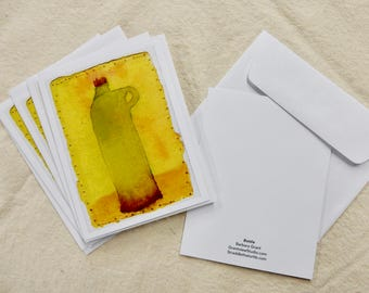 Bottle note cards