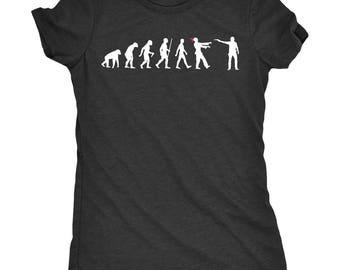 Evolution Of The Walking Dead Women's Tri-Blend Crew Neck T-Shirt - Plus sizes available!