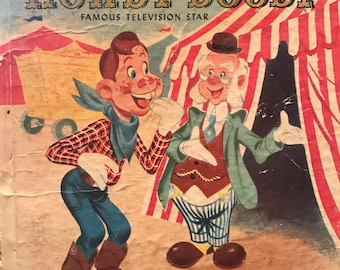 Surprise for Howdy Doody Famous Television Star Tell-a-Tale Whitman book 1951