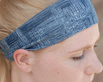 Blue Denim Headband