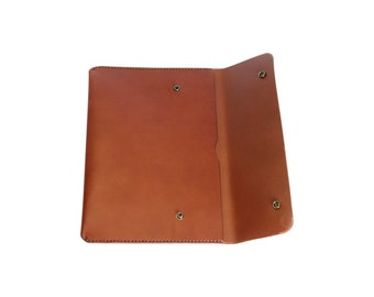 H+B Laptop/iPad Case  - Sedona Brown Leather