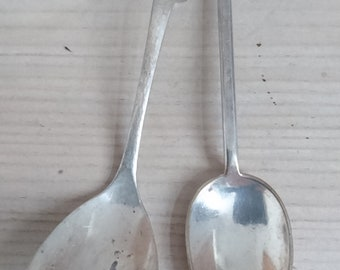 Two vintage spoons