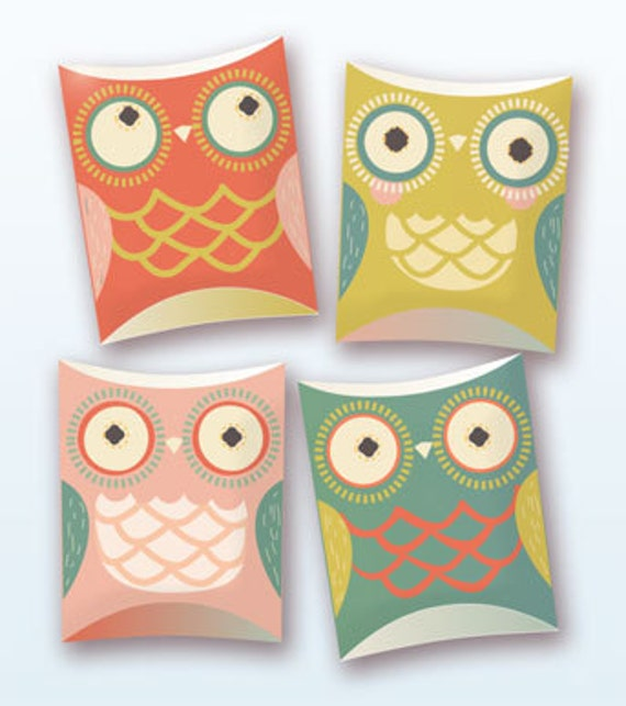 Owl pillow gift boxes pdf template pronofoot35fo Images