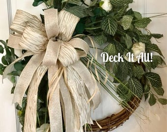 Grapevine Floral Wreath