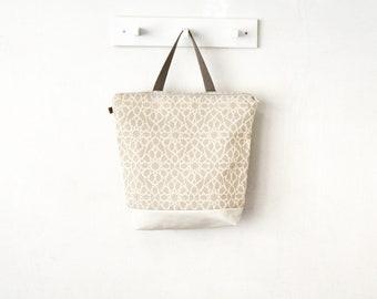 Woman backpack fabric backpack rucksack Lilyleau