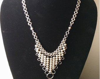 Stainless Steel Chainmaille Necklace