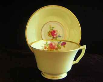 Old Ivory Syracuse tea cup and saucer