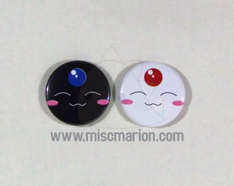 xxxHolic Mokona Buttons, Magnets or Keychains 1.5 Inches