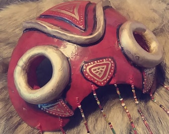 Princess Mononoke mask - Cosplay