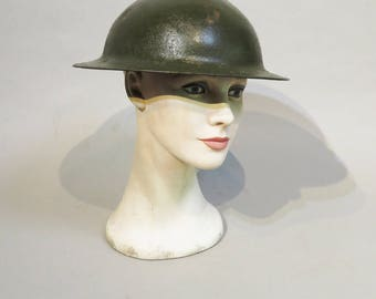 WWI Doughboy Helmet - Shell - Partial Liner - Stamped 234 ZD - American