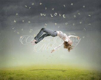 In Love Love is beautiful Surreal Art Print Surreal Photo Art Surrealism Levitating print Fine Art Fhotography Contemporary Art large