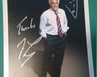3 Day Spring Clearance Vintage Signed Jay Leno with COA