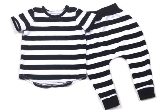 Like this item?  sc 1 st  Etsy & Jailbird Halloween Costume Black and White Stripe Short