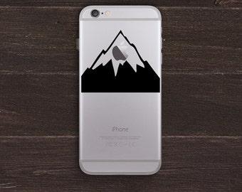 Mount Apple, Mountain Vinyl iPhone Decal BAS-0259