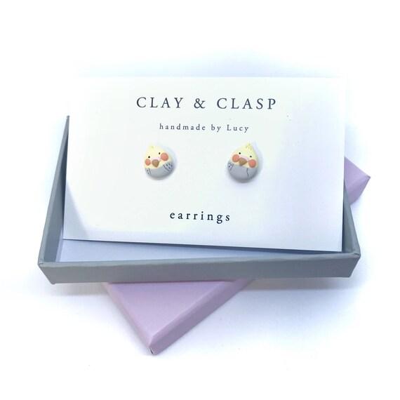 Cockateil earrings