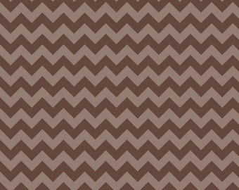 Brown Tone-On-Tone SMALL Chevron From Riley Blake - Out of Print