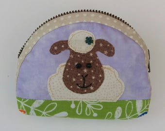 Cute sheep purse