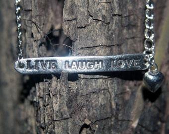 Fine silver key to happiness bracelet