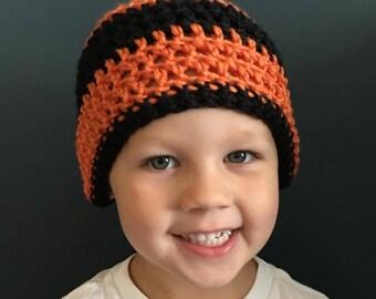 Crochet Sports Fan Beanie