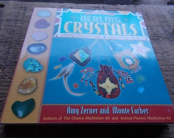 Tutorial book on  Healing Crystals how what why..and many projects for the Shamans Guide...