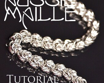 Chainmaille Tutorial - Rosetta Chain Maille Bracelet