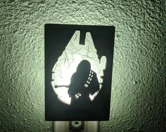 Star Wars Chewbacca Inspired Night Light