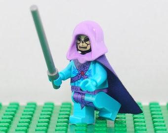 Skeletor Custom minifigure (Lego Compatible) Masters of the Universe He-Man Villain Castle Grayskull Eternia Keldor DC Comics Christmas Gift